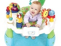 Baby activity center safety