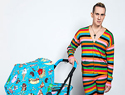 Designer Jeremy Scott teams up with Cybex for 'Food Fight' collection