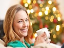 Holiday pampering tips for new moms