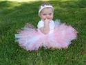 Perfect baby girl first birthday dress