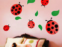 Fun removable nursery wall decals