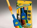 Rainbow rake for summer fun