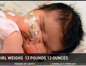 Mom surprised when she gave birth to 14-pound baby (VIDEO)