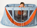 The journeyBee travel crib was made for moms on the move