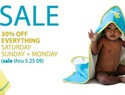Memorial day baby sales