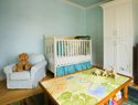 Our favorite bright-colored nursery gear
