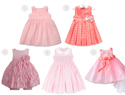Pretty in pink: 5 Easter dresses for baby girl