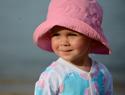 Protect Baby's skin with sun blocking swimwear
