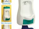 Flushable toddler urinal for potty training