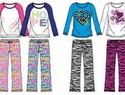 Recall: Star Ride Kids pajamas