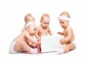Sharing your baby's pictures via social media