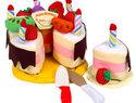 Soft cake toddler toy
