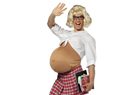 What's with all the fake pregnant Halloween costumes?