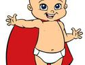 Super Baby reminds you about window safety